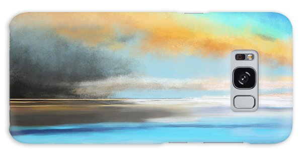 Seascape Painting Galaxy Case
