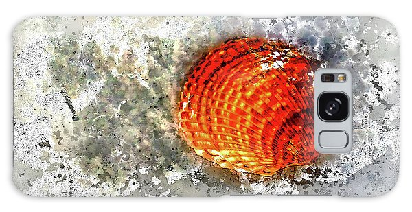 Seashell Art  Galaxy Case by HH Photography of Florida