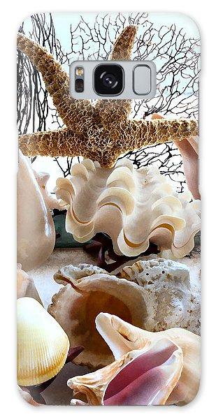 Seashell Galore Galaxy Case