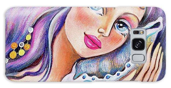 Seashell Reverie Galaxy Case