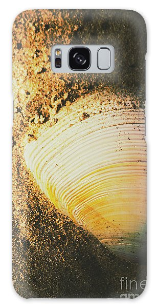 Seashells And Beach Colours Galaxy Case