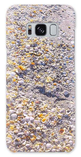 Seashells In Sanibel Island, Florida Galaxy Case