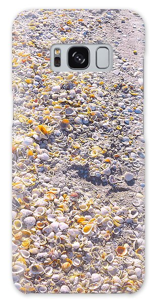 Seashells In Sanibel Island, Florida Galaxy Case