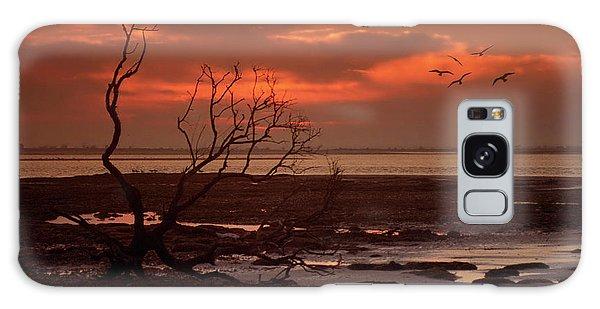 Seashore At Dawn Galaxy Case