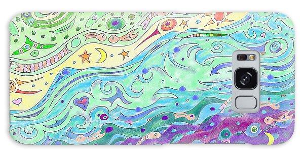 Seashore Galaxy Case