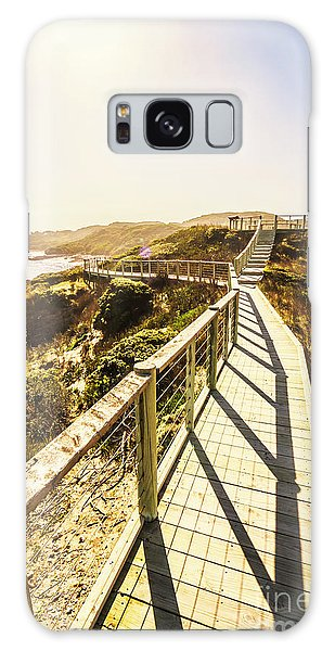 West Bay Galaxy Case - Seaside Perspective by Jorgo Photography - Wall Art Gallery