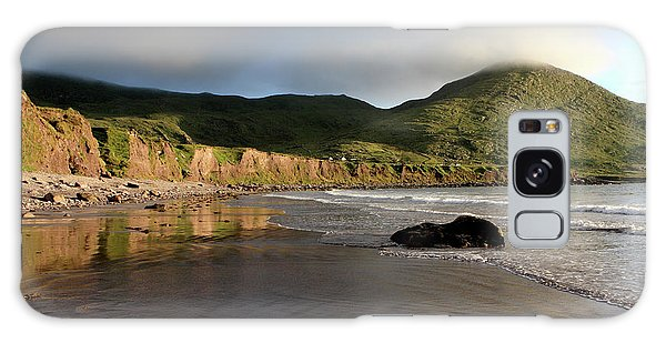 Seaside Reflections, County Kerry, Ireland Galaxy Case