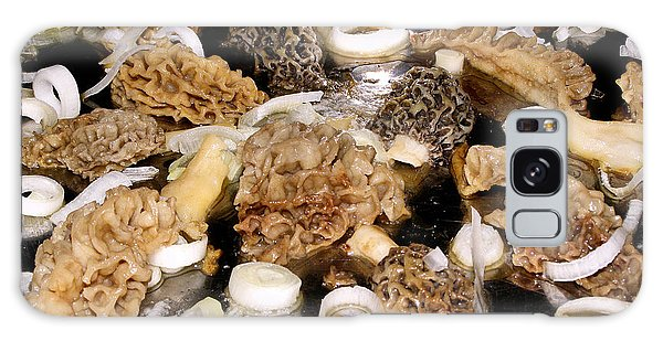 Season's First - Morel Mushrooms Galaxy Case