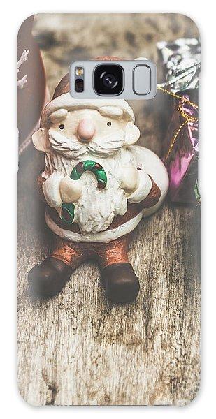 Santa Claus Galaxy Case - Seasons Greeting Santa by Jorgo Photography - Wall Art Gallery