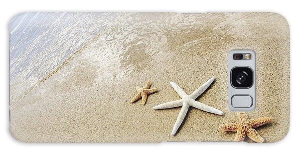 Seastars On Beach Galaxy Case