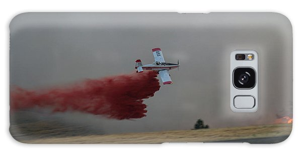 Seat Drops On Indian Canyon Fire Galaxy Case by Bill Gabbert