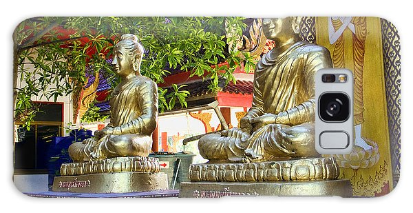 Seated Buddhas Galaxy Case