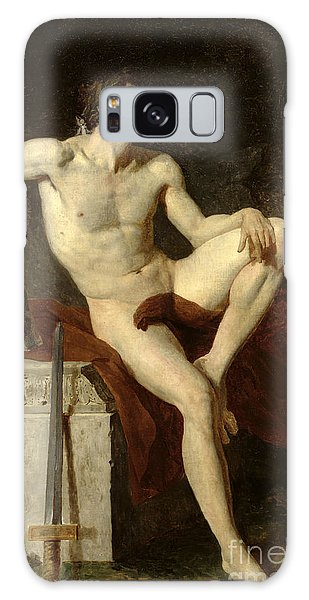 Sitting Nude Galaxy Case - Seated Gladiator by Jean Germain Drouais