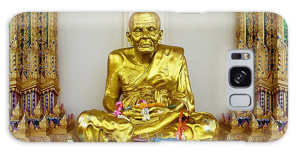 Seated Holy Man At Koh Samui Galaxy Case