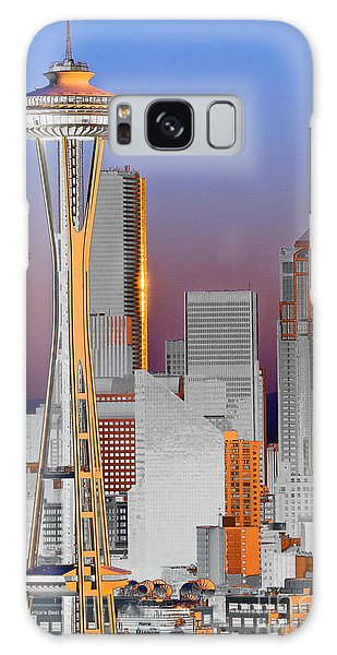 Seattle Architecture Galaxy Case