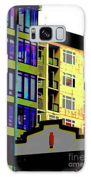 Galaxy Case featuring the photograph Seattle Architecture by Yulia Kazansky
