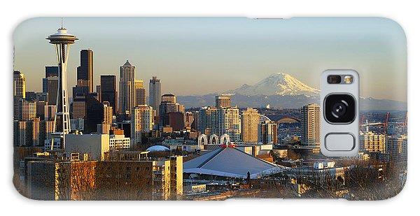 Seattle Cityscape Galaxy Case