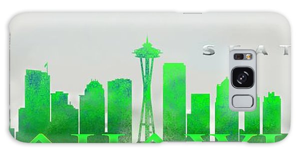 Seattle Greens Galaxy Case