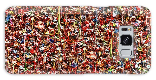 Seattle Gum Wall 2 Galaxy Case by Allen Beatty