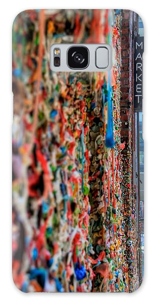 Seattle Gum Wall Galaxy Case by Spencer McDonald