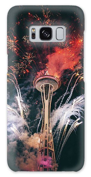 Fireworks Galaxy Case - Seattle by Happy Home Artistry