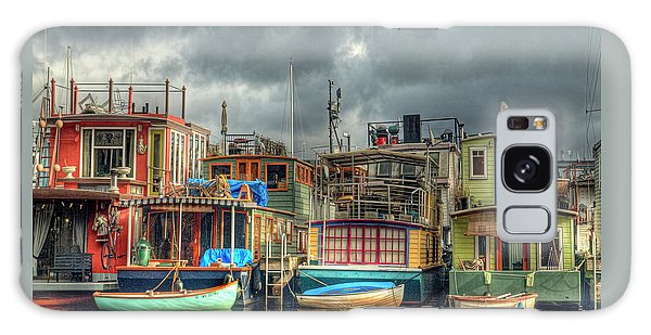 Seattle Houseboats Fine Art Photograph Galaxy Case by Greg Sigrist