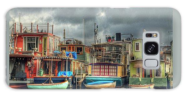 Seattle Houseboats Fine Art Photograph Galaxy Case