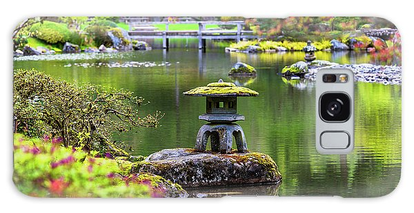 Seattle Japanese Garden Galaxy Case