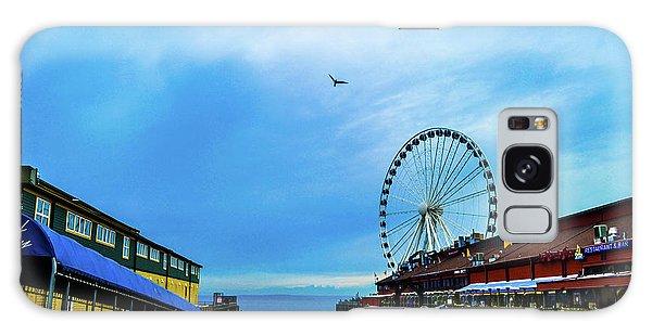 Seattle Pier 57 Galaxy Case