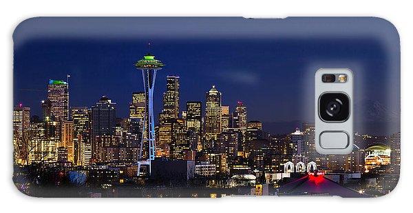 Seattle Seahawks Space Needle Galaxy Case