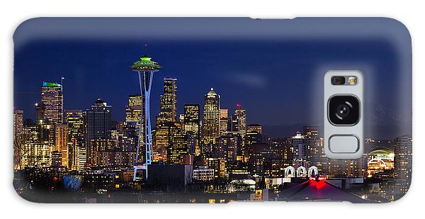 Seattle Seahawks Space Needle Galaxy Case