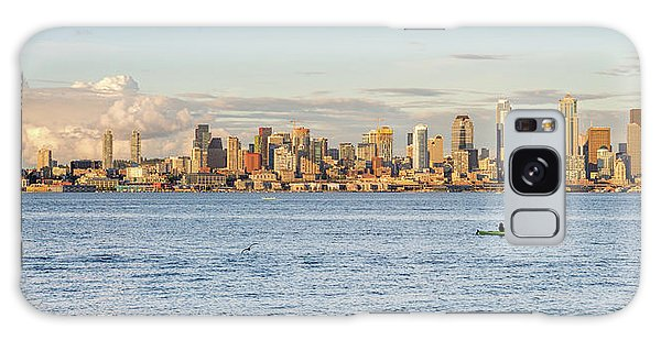 Seattle Skyline 2 Galaxy Case