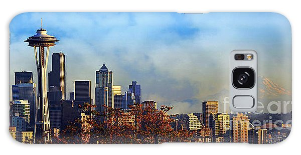 Seattle Skyline Galaxy Case