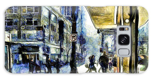 Seattle Streets #2 Galaxy Case by Susan Parish