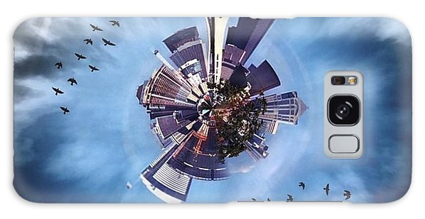 Skylines Galaxy Case - Seattle #tinyworld #spaceneedle by Joan McCool