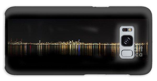 Seattle Washington Skyline From Alki Seacrest Park At 10mm Galaxy Case by Patrick Fennell