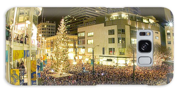 Seattle Westlake Tree Lighting Galaxy Case