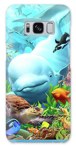 Dolphin Galaxy Case - Seavilians 2 by Jerry LoFaro