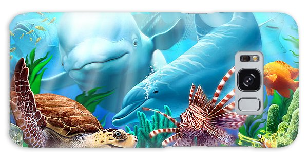 Dolphin Galaxy Case - Seavilians 1 by Jerry LoFaro