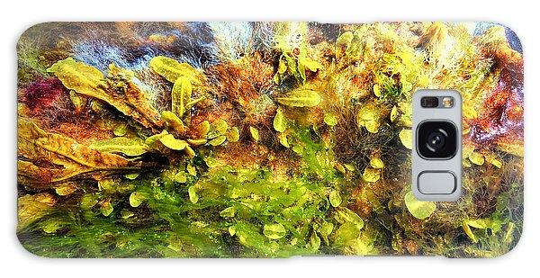 Seaweed Grunge Galaxy Case by Todd Breitling