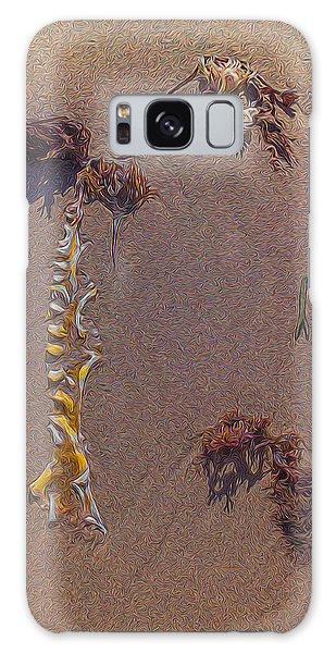 Seaweed On Clayhead Beach Galaxy Case by Todd Breitling