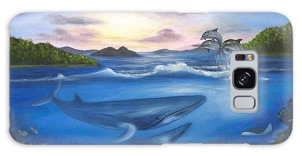 Galaxy Case - Seaworld by Anne Kushnick