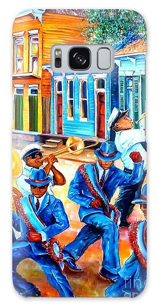 Trombone Galaxy S8 Case - Second Line In Treme by Diane Millsap