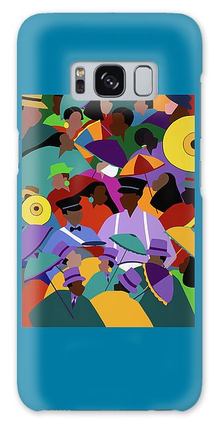 Second Line New Orleans Galaxy Case