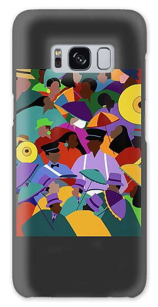 Galaxy Case - Second Line New Orleans by Synthia SAINT JAMES