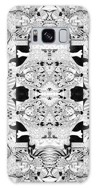 Organic Abstraction Galaxy Case - Second Sight 4 by Helena Tiainen