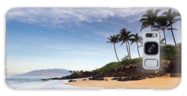 Secret Beach Maui Sunrise Galaxy Case