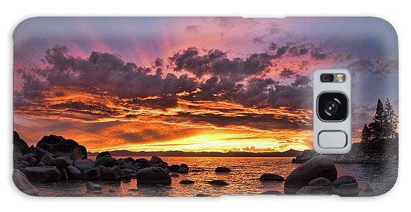 Secret Cove Sunset Galaxy Case