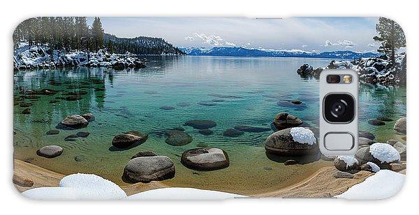 Secret Cove Winter Panorama By Brad Scott Galaxy Case
