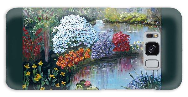 Secret Garden Galaxy Case by Phyllis Kaltenbach